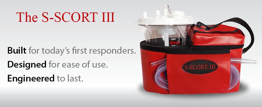 ems portable suction for first responders