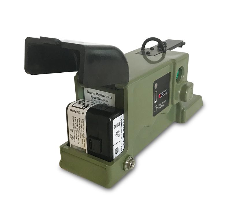 Quickdraw-OD-Door-open-battery-holder